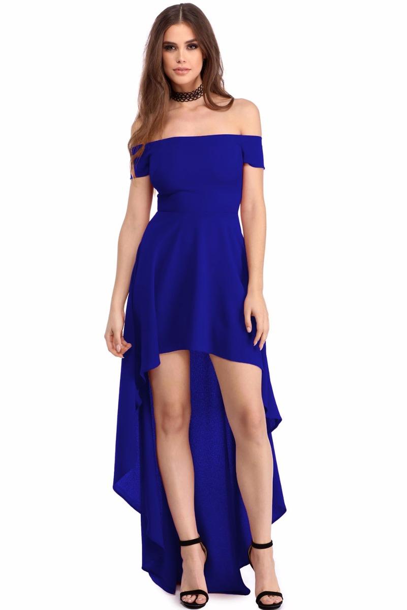 Sexy Vestido Largo De Fiesta Strapless Mermaid Azul 61437 - $ 599.00 ...
