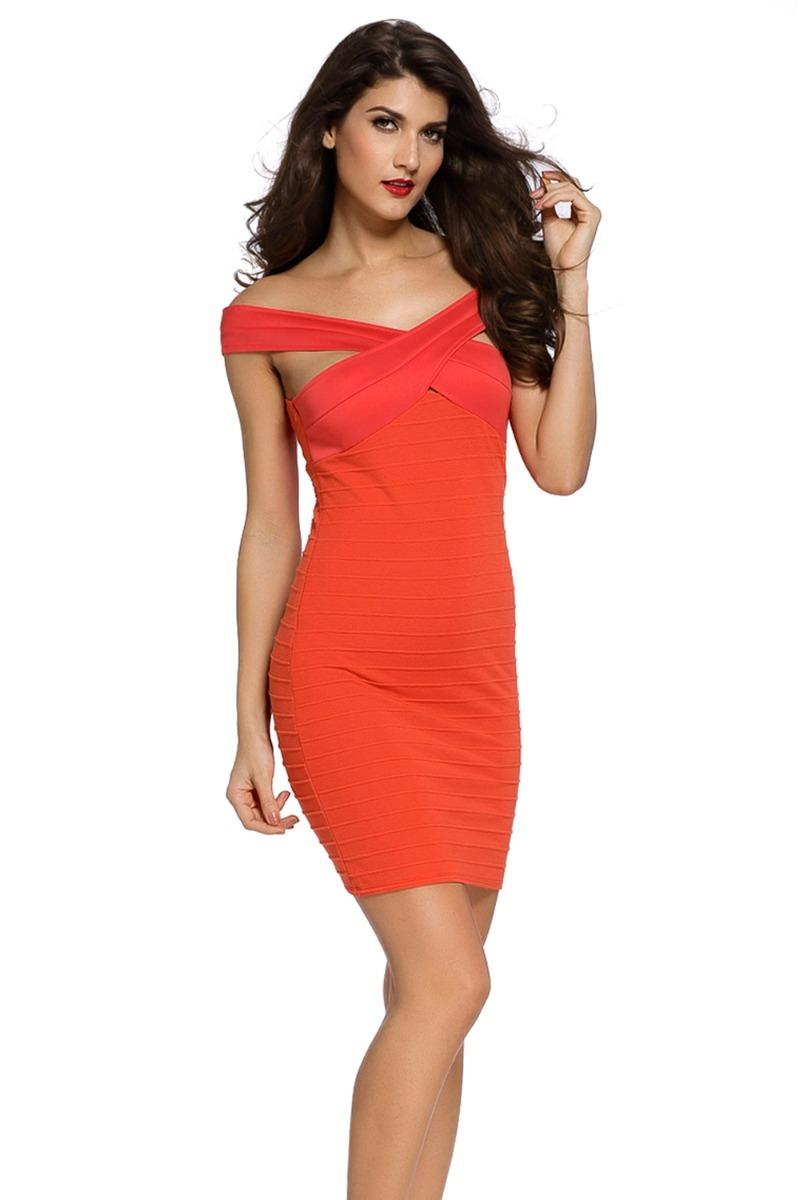 994fffeabb sexy vestido rojo terracota entallado pequeñas mangas 21979. Cargando zoom.