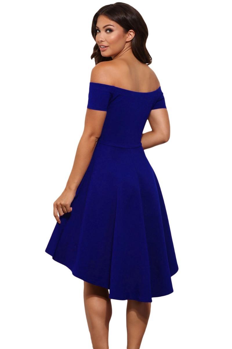 36919fb810 sexy vestido strapless azul manga corta moda retro 61346. Cargando zoom.