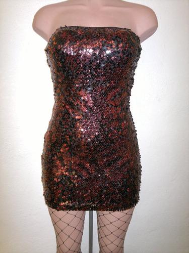 sexy vestido strapless vino brilloso moderno elegante fiesta