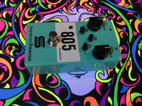 seymour duncan  pedal para guitarra electrica 805 overdrive