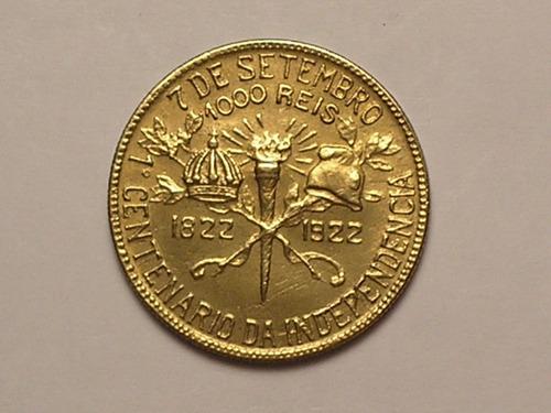 s/flor) 1.000 réis.1922 - erro = bbasil / bronze / l-4