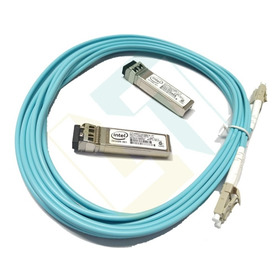 Sfp+ 10gb - Kit Completo 3m Intel Mikrotik Etc