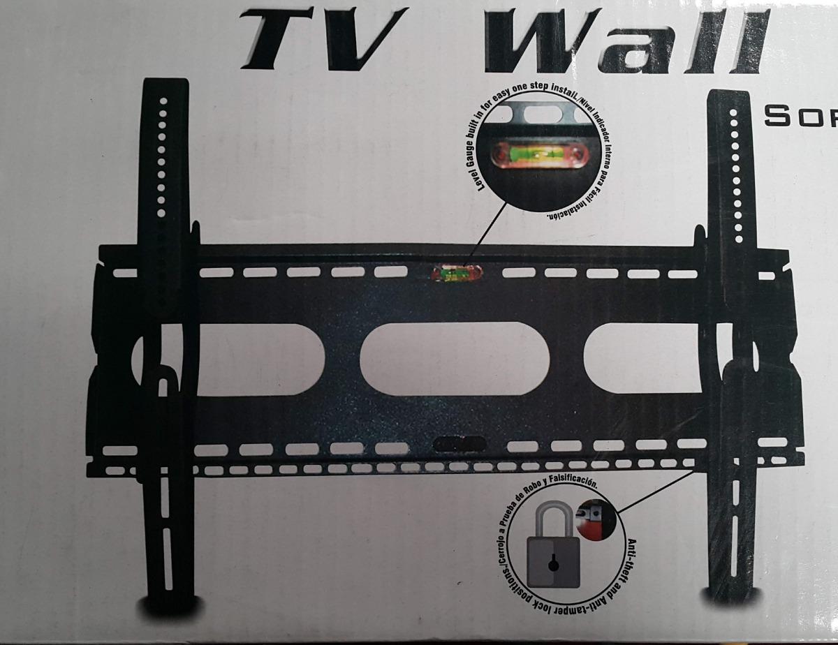 a9ea7fc1cba Sgm1 N.a. Tvy 29 Soporte De Pared Para Tv Led Lcd Antirobo - $ 2.725 ...