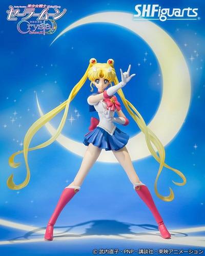 sh figuarts sailor moon crystal