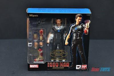 sh figuarts tony stark - iron man avengers en stock