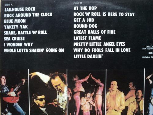 sha na na- lp the golden age of rock 'n' roll- 1973 original