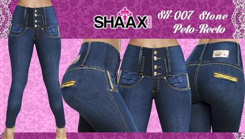 shaax jeans 2 (pantalones) envío gratis