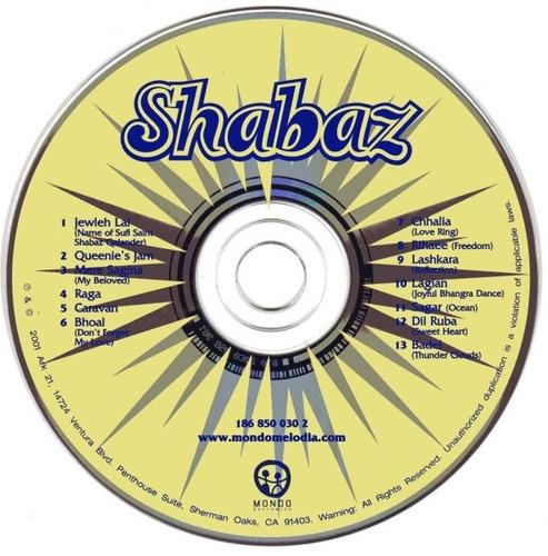 shabaz by shabaz cd usado tribal downtempo excelente estado