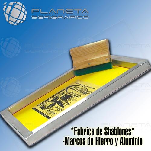 shablon serigrafia 40x50 hierro-90hilos color oferta!