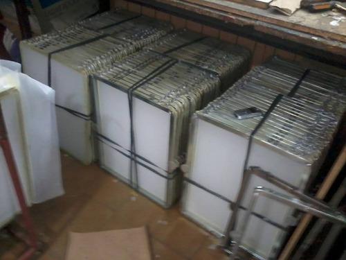 shablones serigrafia 40x50 50h cincados (no se oxidan)