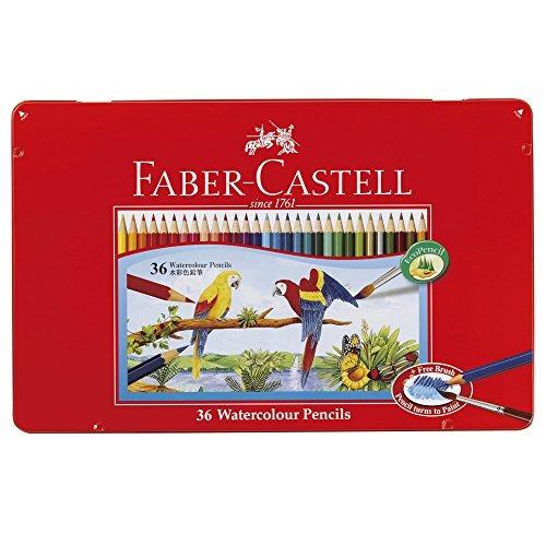 shachihata acuarela lápices faber-castell tfc-wcp / 36c