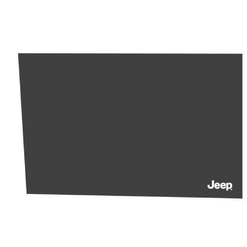 shade jeep sun del coche, estático cling, paquete de 2, neg