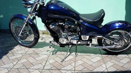 shadow 600 customizada