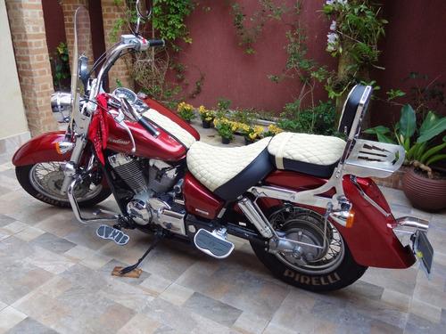 shadow 750 vermelha  honda 52 mil km (2006)