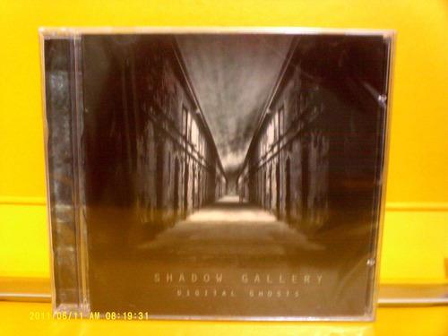 shadow gallery- digital ghosts - cd