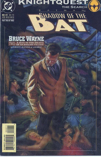 shadow of the bat--- saga bruce wayne orig. dc comics