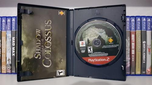 shadow of the colossus juegos ps2 originales ingles usado*