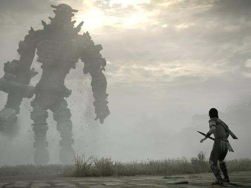 shadow of the colossus ps4 juego sobre físico original full