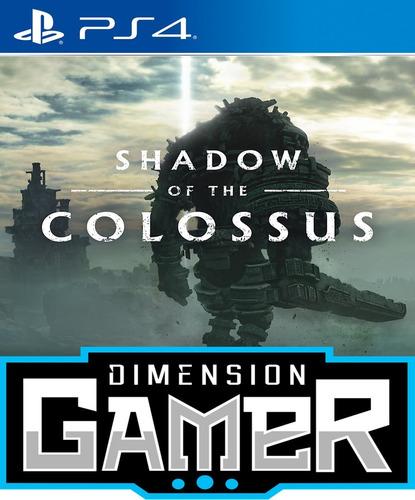 shadow of the colossus - ps4 n0 codigo - offline