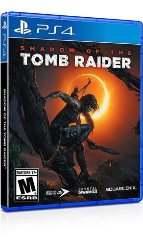shadow of the tomb raider para ps4 a meses