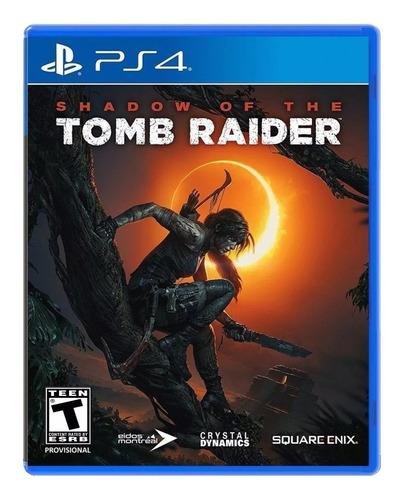 shadow of the tomb raider ps4 físico jazz pc envio gratis
