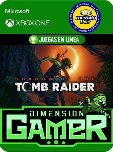 shadow of the tomb raider - xbox one - online/offline