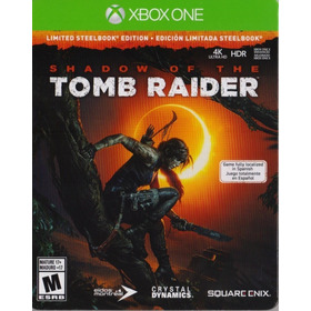 Shadow Of The Tomb Raider Xbox One Steelbook Edition