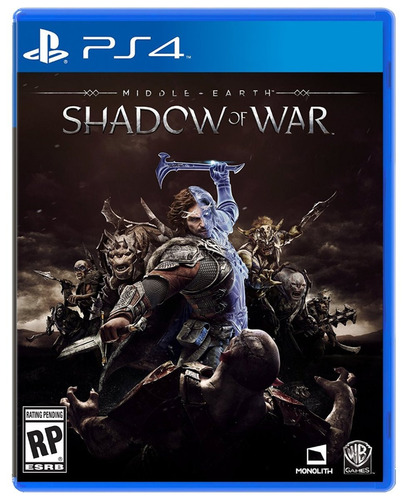 shadow of war ps4 nuevo y sellado