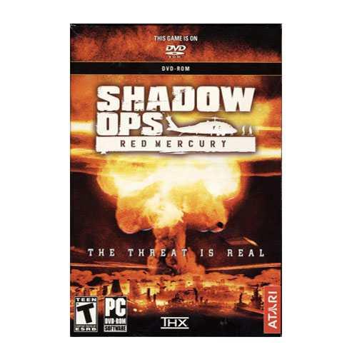 Shadow Ops Red Mercury Pc Windows 98se/ Me/ 2000 /xp/8 1/10