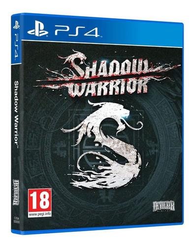 shadow warrior ps4 juego original fisico sellado blu-ray