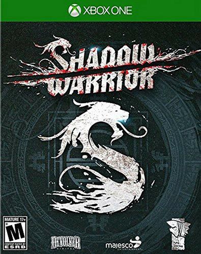 shadow warrior xbox one nuevo físico  videojuego sellado