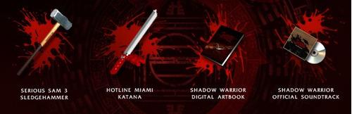 shadow warrior:special edition 50% descuento para steam pc