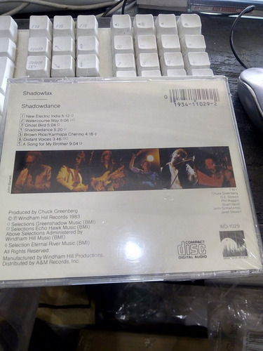 shadowfax shadowdance cd nuevo jazz fusion rock
