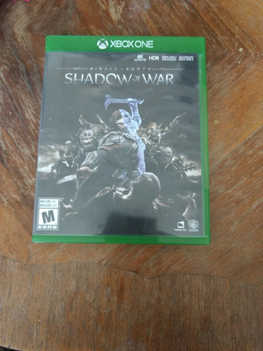 shadows of war xbox one