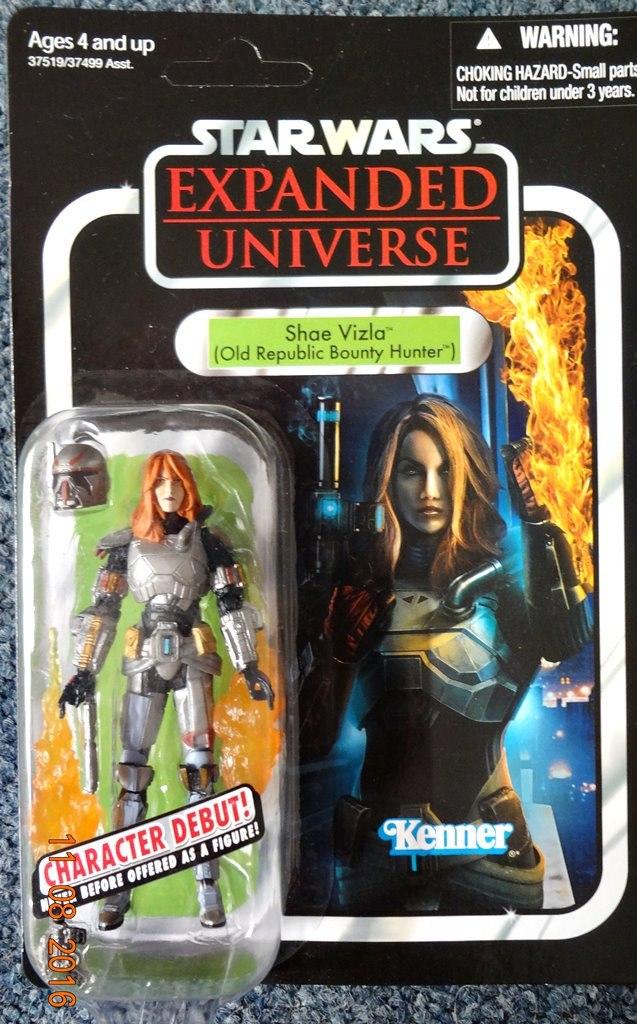 e4ea0170c248 Shae Vizla Unpunched Star Wars Vintage Collection Hasbro ...