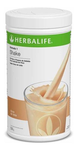 shake herbalife sabor doce de leite