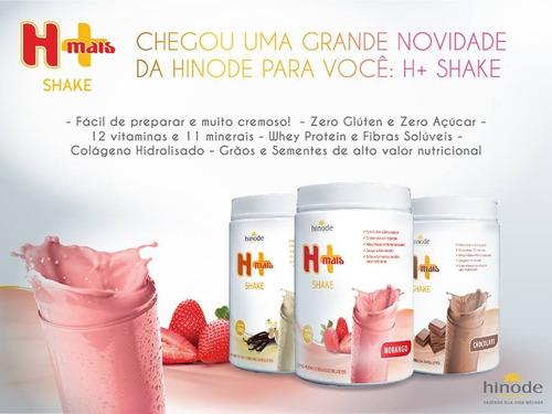 shake hinode + whey protein e colágeno hidrolisado