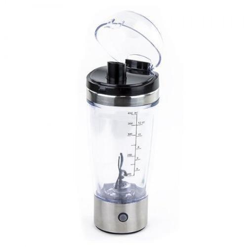shaker a pila, mezclador de proteina envío gratis lima