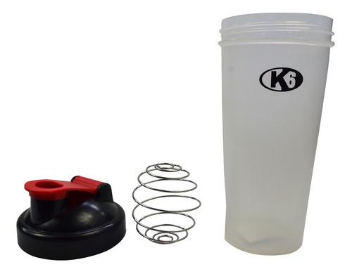 shaker de proteina termo vaso mezclador tornado 600 ml lf
