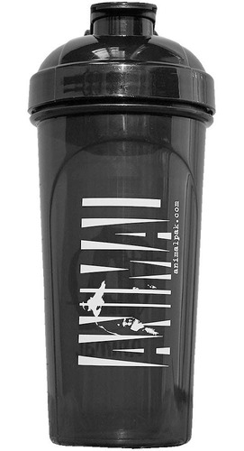shaker gym cilindro vaso uni animal 25 oz tapa negra