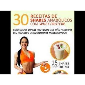 Shakes Anabólicos +  Bônus Alimentação Fitness.