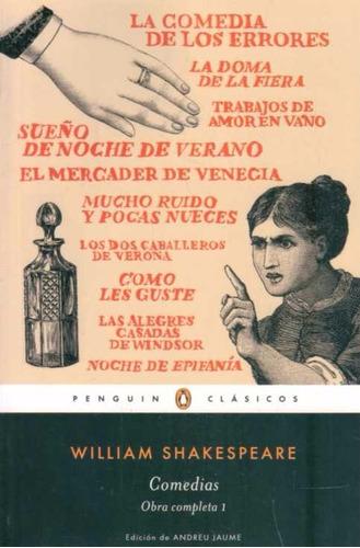 shakespeare - comedias. obra completa 1