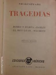 shakespeare - tragedias