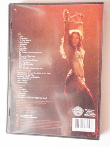 shakira concierto oral fixation tour dvd original