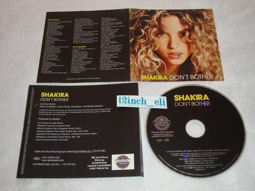 shakira don´t bother no te molestes 05 epic usa single promo
