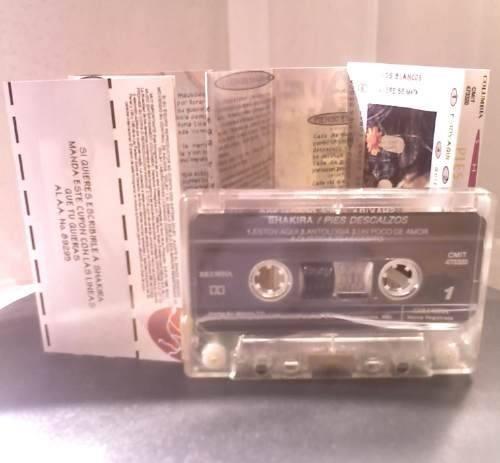 shakira pies descalzos cassette