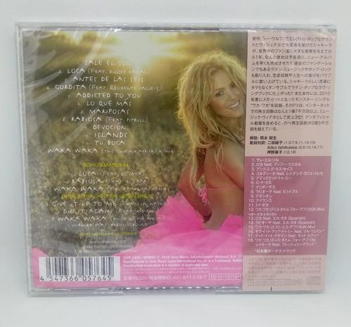shakira - the sun comes out (sale el sol) japan edition
