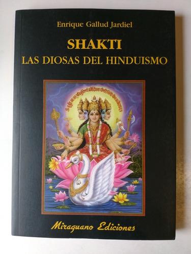 shakti, las diosas del hinduismo enrique gallud jardiel