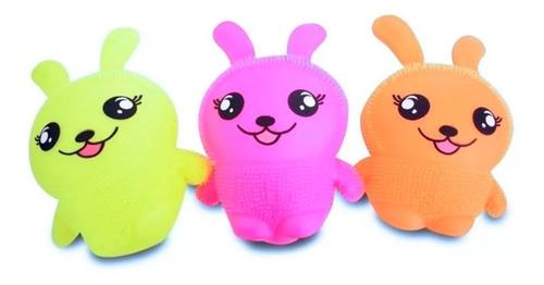 shaky friends amigo temblorosos  osito conejo goma squish